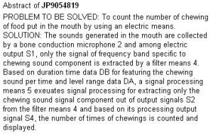 chewing-counter